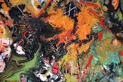 I'am not Pollock 100 cm x 160 cm