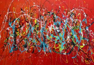 Nice Jazz Blues  70 cm x 100 cm