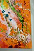 Orange Feeling 70 cm x 100 cm - Nouvelle collection -