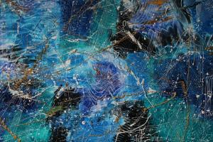 Blue emotion 70 cm x 100 cm